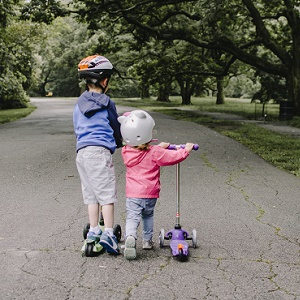 Kids safety and durability image for cheap pro scooters